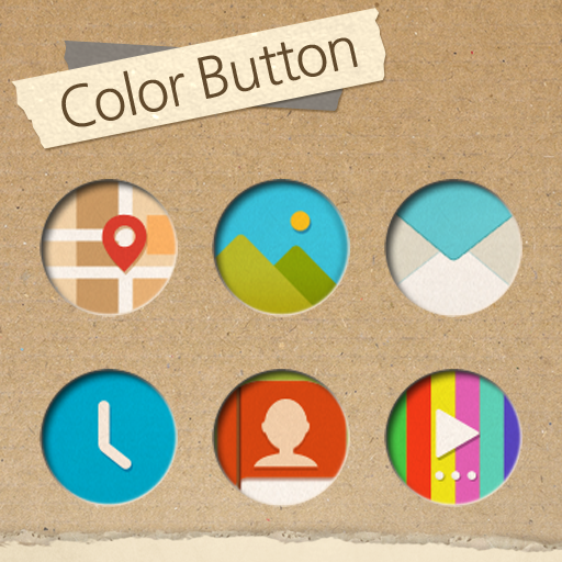 Color button Atom Iconpack