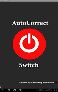 AutoCorrect Switch for Tablets screenshot 0