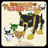 番犬WANBOの電力消費モニター