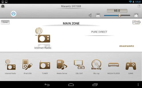 Marantz Remote App- screenshot thumbnail