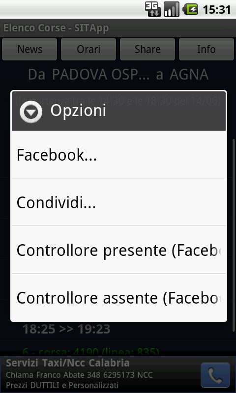 SITApp - FSBUSItalia - screenshot