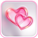 Romantic Hearts Live Wallpaper icon