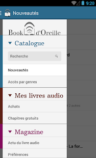 Book d'Oreille Capture d'écran