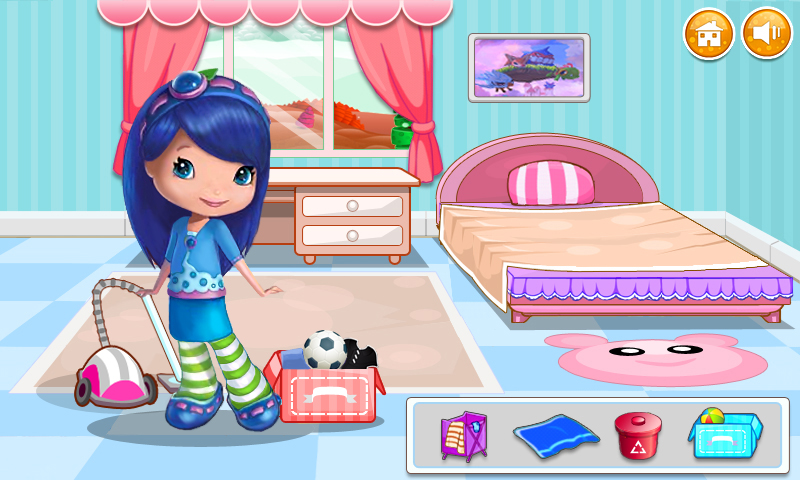 Kids cleaning bedroom clipart for Pictures of clean bedrooms