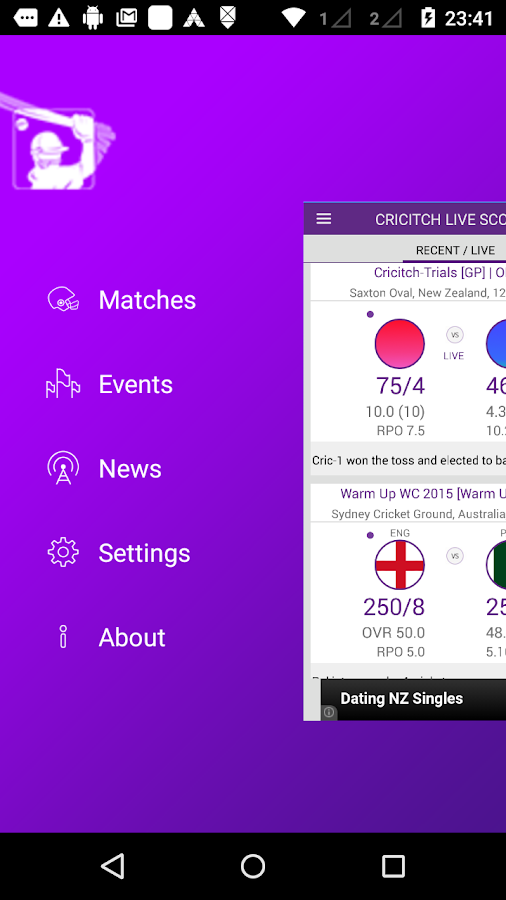 cricitch T20 LIVE cricket- screenshot