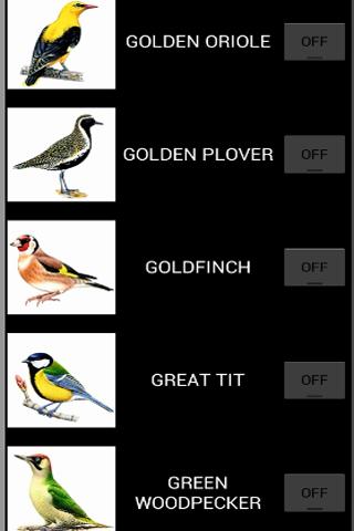 52 birdcalls.call of the wild