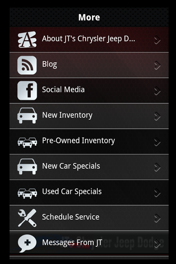 Jts Chrysler Dodge Jeep Ram Android Apps On Google Play