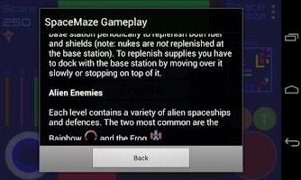 Screenshot of Space Maze Lite