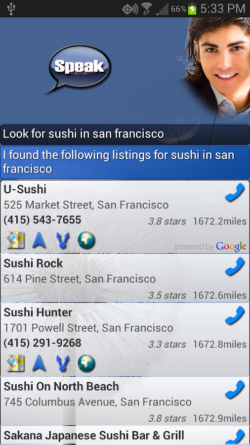 EVAN Free - (Siri for Android) - screenshot