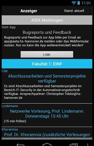 AStA HsH App 1.1.1 screenshots 6
