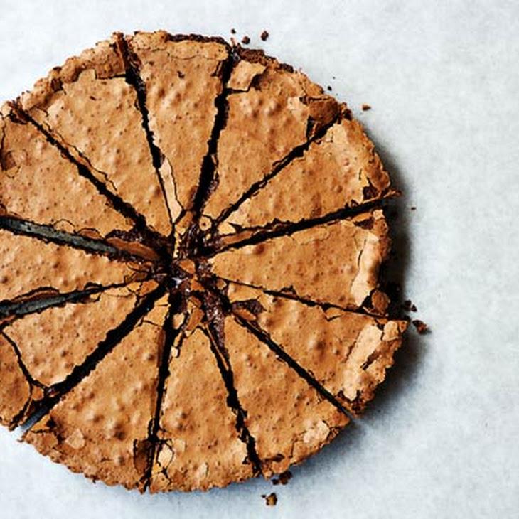 Chocolate Tart with Pine Nuts