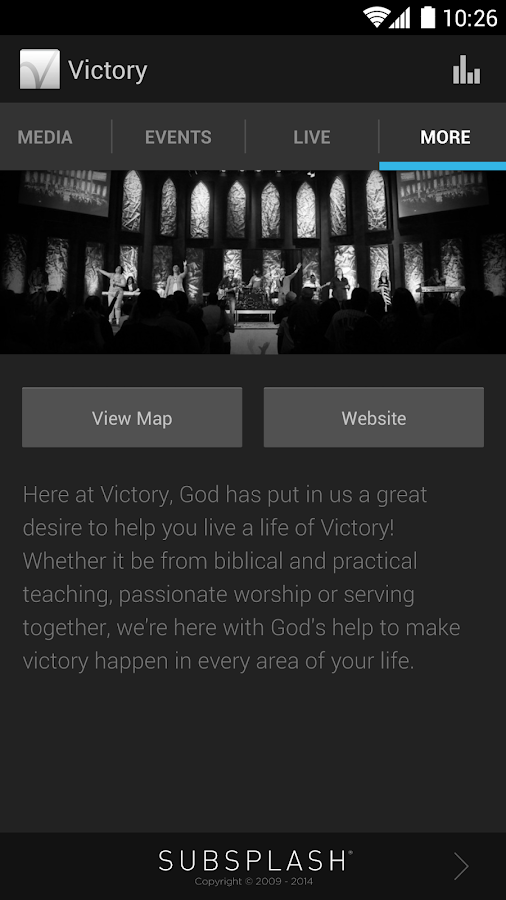 Victory Church Amarillo - screenshot