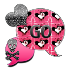 GlitterSkulls1/GO SMS THEME icon