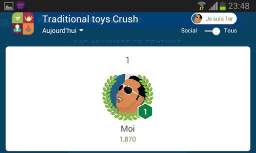Traditional toys Crush