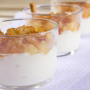 Apple and Cream Cups