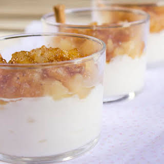Apple and Cream Cups.