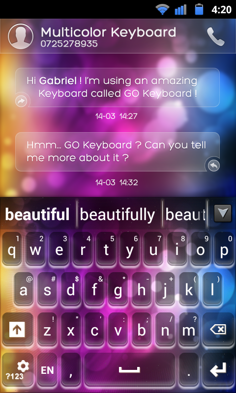 latest go sms pro free download