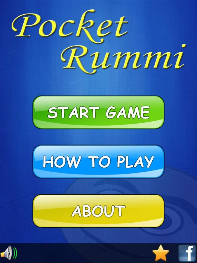 Pocket Rummi- screenshot