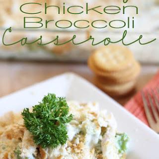 Creamy Chicken Broccoli Casserole