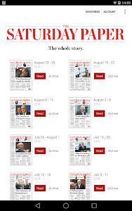 The Saturday Paper v1.0