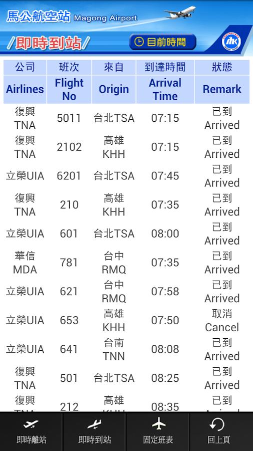 馬公航空站 - screenshot