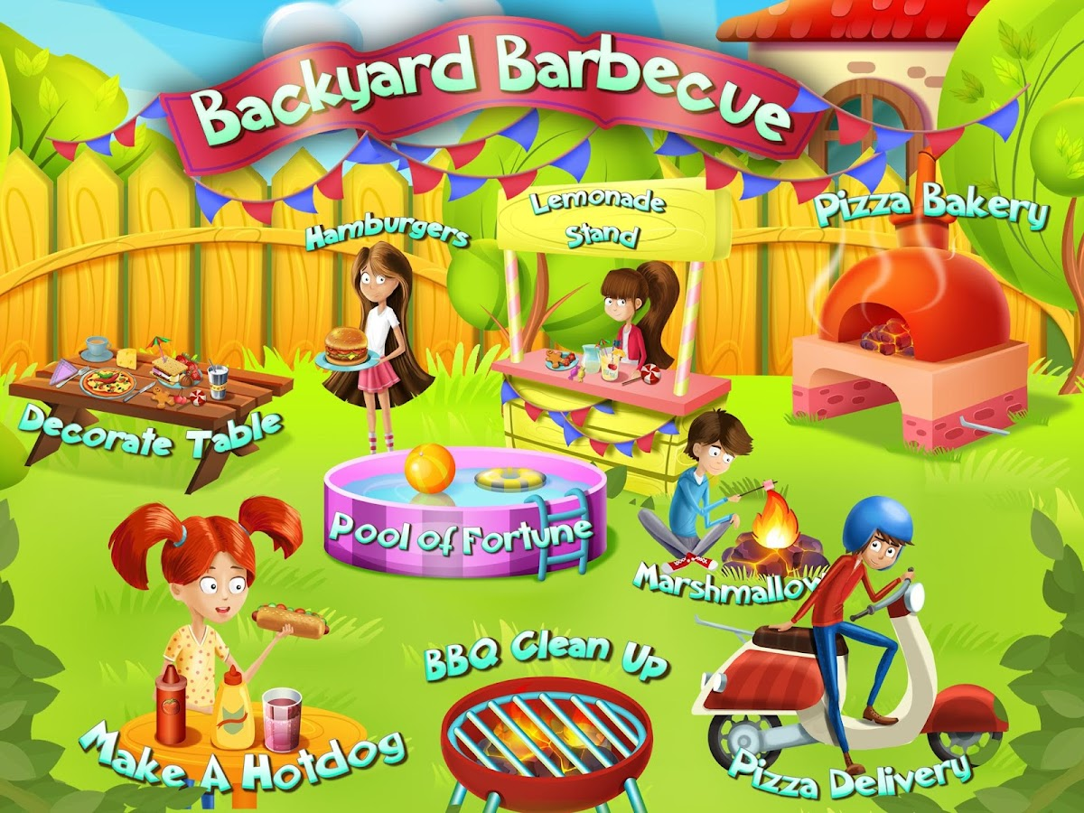 Backyard Barbecue Party- screenshot