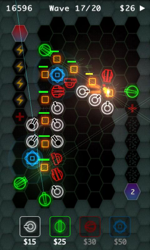HexDefense Free - screenshot