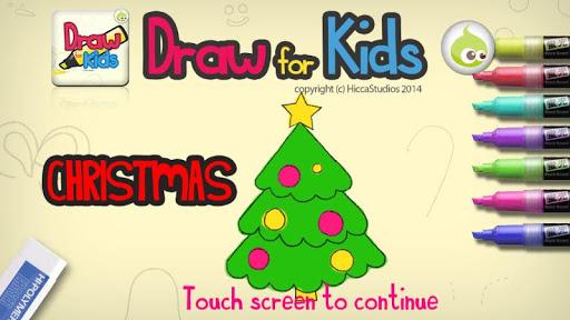 Draw for Kids Christmas