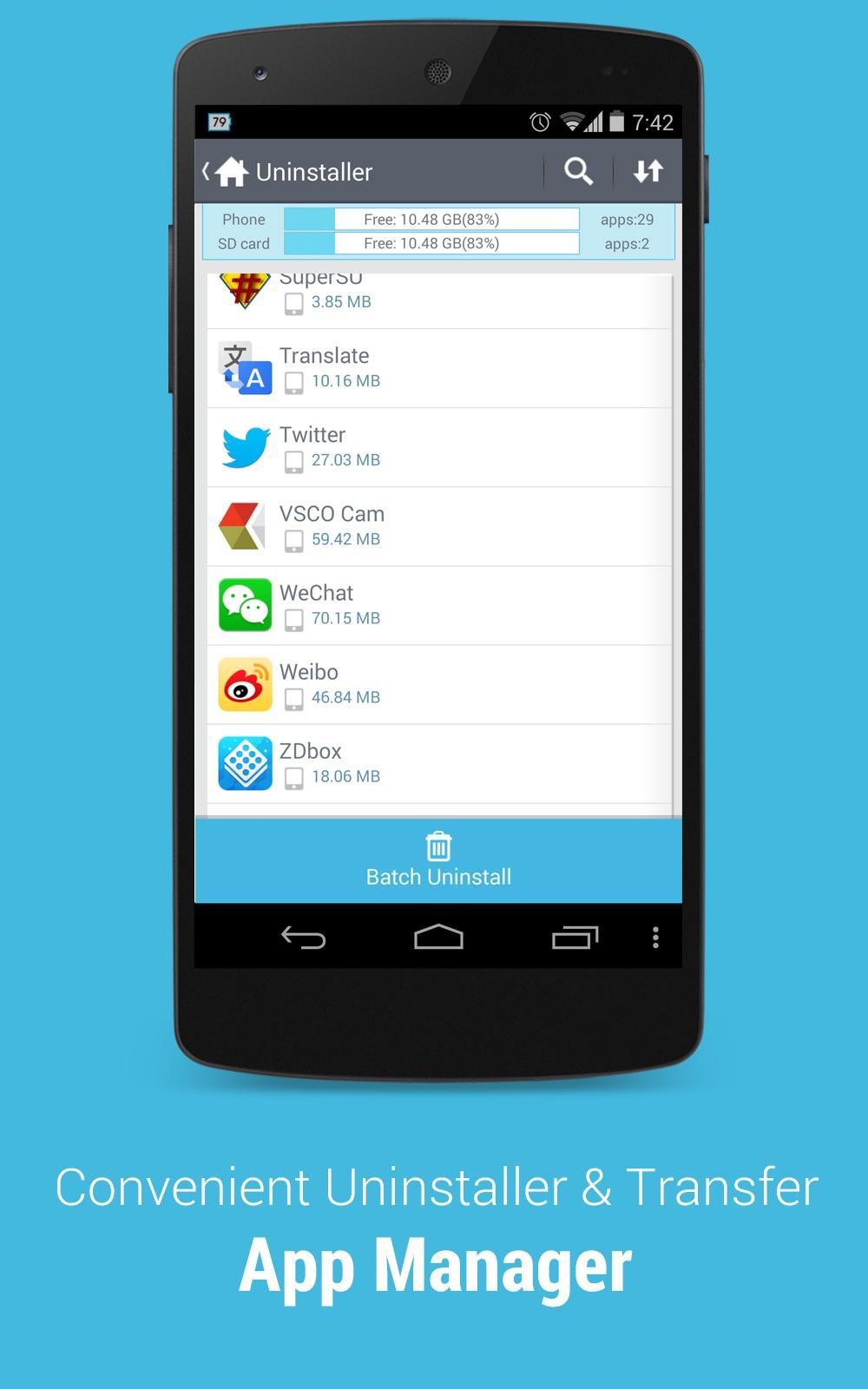 ZDbox ( Root Task Killer ) screenshot #3