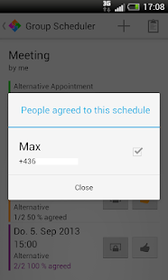 Group Scheduler - screenshot thumbnail