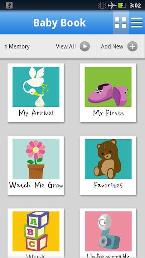 Приложение WebMD Baby для планшетов на Android