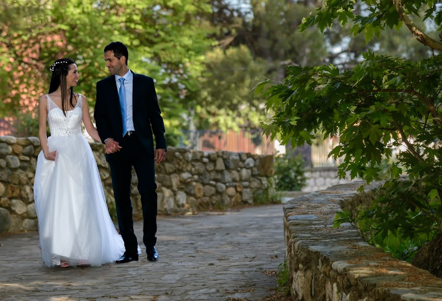 After the Ceremony by Chris Kontoravdis - Wedding Bride & Groom ( walking, wedding photography, wedding, bride, groom,  )