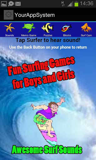 Free Surfing Games for Kids