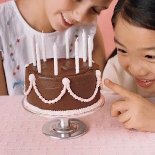 Tiniest Birthday Cake.