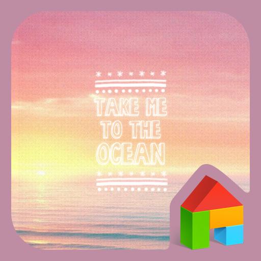 Take me to the OCEAN 도돌런처 테마 個人化 App LOGO-硬是要APP