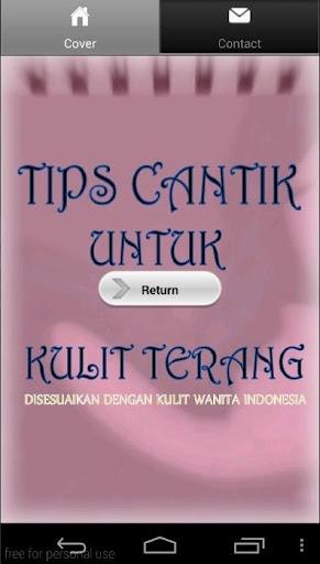 Tips Cantik Wanita Indonesia