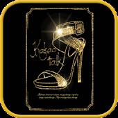 Gold Shoes go locker theme