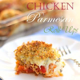 Chicken Parmesan Roll-Ups.