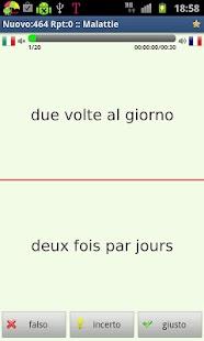 Imparare il francese- screenshot thumbnail