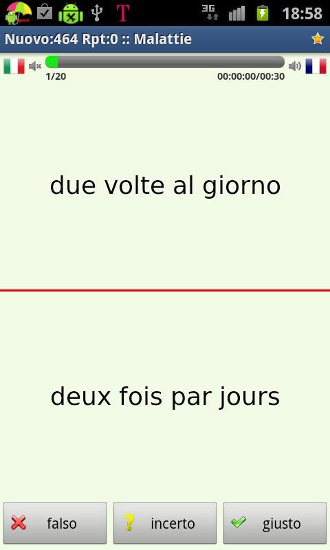 Imparare il francese- screenshot