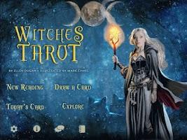 Screenshot of Witches Tarot