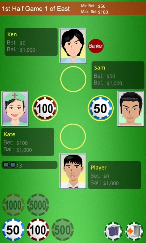 Happy Chinese Poker- screenshot