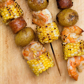 Low Country Boil Kabobs.