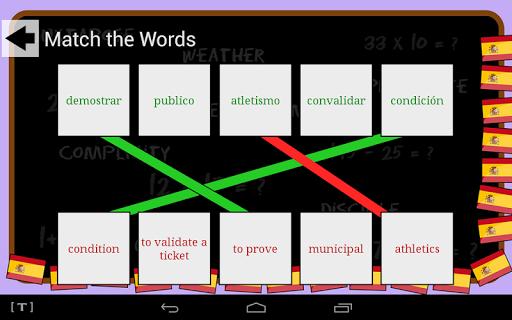 Spanish Vocab Game