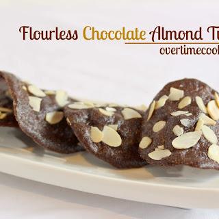Flourless Chocolate Almond Tuiles.