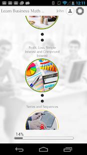 Learn Business Math - screenshot thumbnail