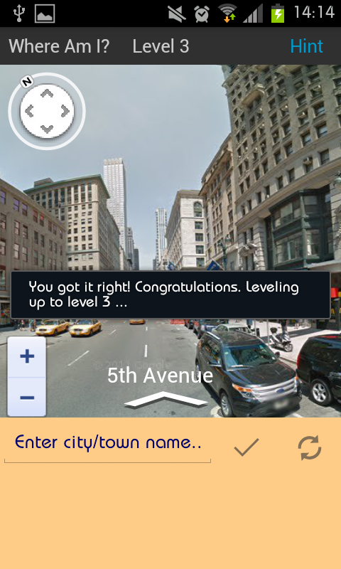 Where Am I? Street View Game- screenshot