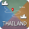 Distance Thailand icon