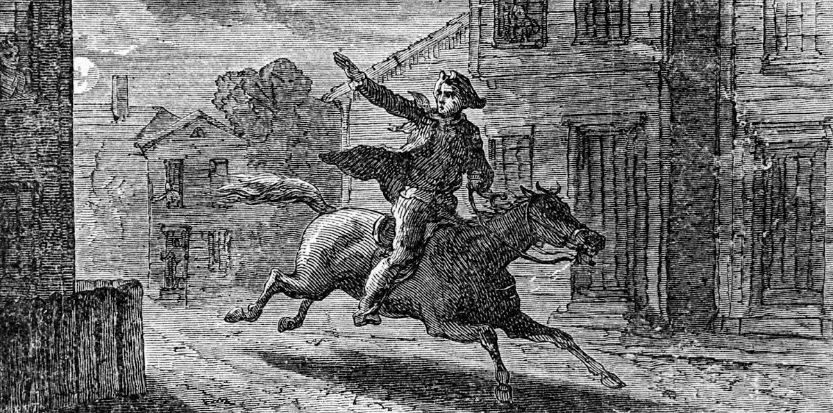 an introduction to the life of paul revere during the british invasion in 1775 Paul revere's ride in april of 1775 the british army was stationed in boston and rumor had it that they were about to make a move on the leaders of the sons of liberty and other american patriots.