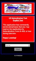 Screenshot of Citizenship - US English Test